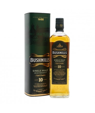 Irish Whiskey 10 Years Old...